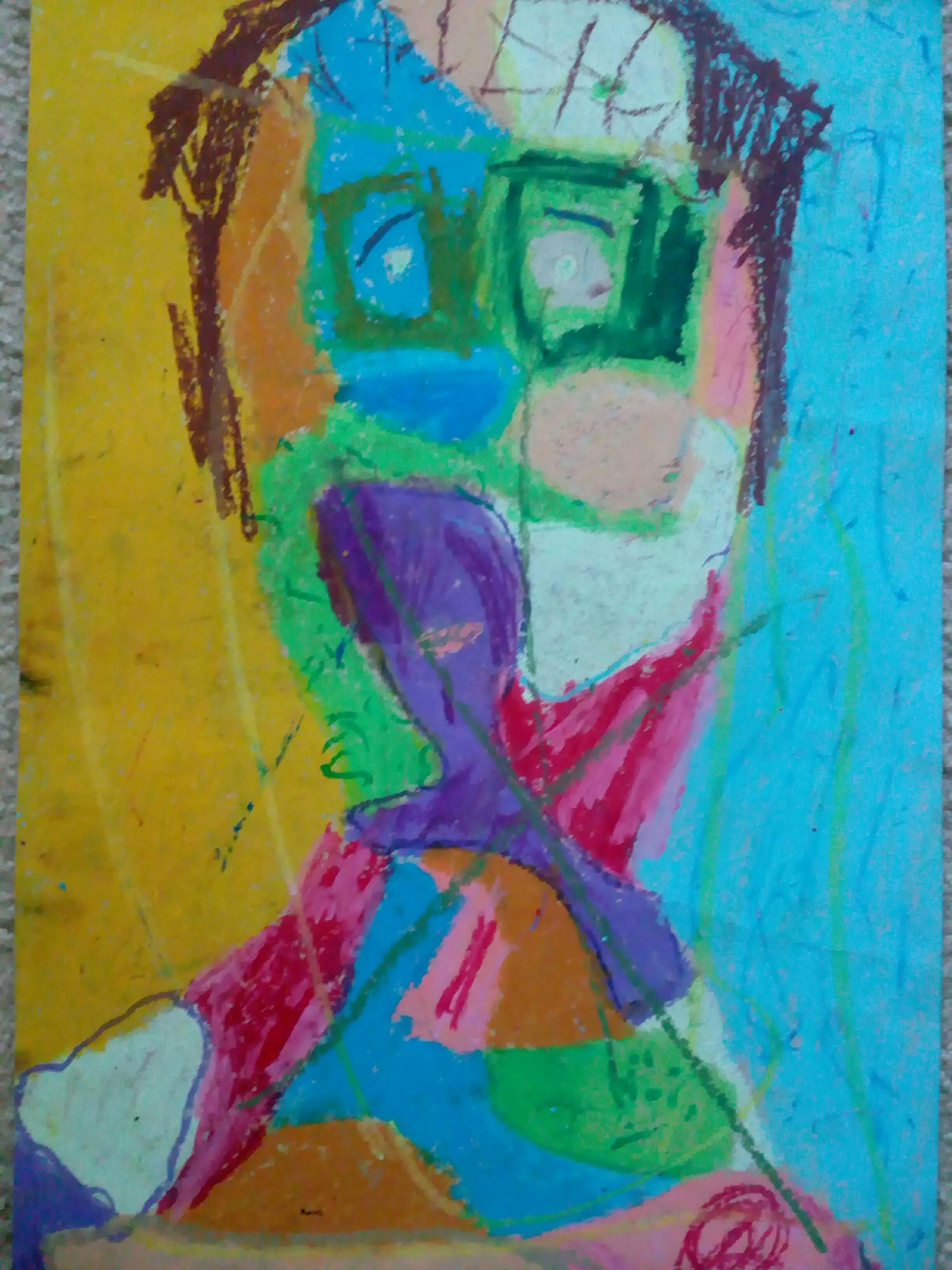 рисунка Даниел Ван Дийн, 10 г.